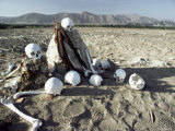 Nazca Desert Cemetery, Peru, South America Photographic Print by Rob Cousins