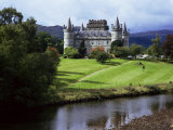 Inveraray Castle, Argyll, Highland Region, Scotland, United Kingdom Photographic Print by Kathy Collins