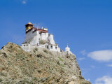Yumbulagung Castle, Restored Version of the Region's Oldest Building, Tibet, China Photographic Print by Ethel Davies