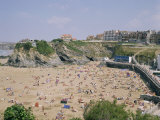 Beach, Newquay, Cornwall, England, United Kingdom Photographic Print by Philip Craven
