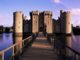 Bodiam Castle, East Sussex, England, United Kingdom Photographic Print by Kathy Collins