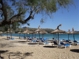 Beach, Port De Pollenca, Majorca, Balearic Islands, Spain, Mediterranean Photographic Print by Philip Craven