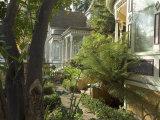 Victorian Houses, Downtown, Santa Cruz, California, USA Photographic Print by Ethel Davies