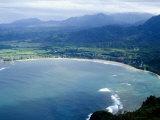 Hanalei Bay, Kauai, Hawaii, United States of America, Pacific, North America Photographic Print by Ethel Davies