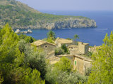 Lluch Alcari, Where Picasso Once Lived, on the Northwest Coast of the Island, Balearic Islands Photographic Print by Kathy Collins