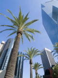 Downtown, Bonaventure Hotel in Background, Los Angeles, California, USA Photographic Print by Ethel Davies
