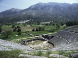 Dodoni Theatre, Dodona, Central Ipiros (Epirus), Greece Photographic Print by Rob Cousins
