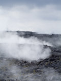 Kilauea Thermal Area, Hawaii Volcanoes National Park, Unesco World Heritage Site, Hawaii Photographic Print by Ethel Davies