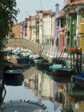 Burano, Island Near Venice, Veneto, Italy Photographic Print by Ethel Davies