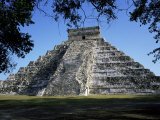 Great Pyramid (El Castillo), Chichen Itza, Unesco World Heritage Site, Yucatan, Mexico Photographic Print by Rob Cousins