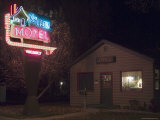 Log Cabin Motel, Montrose, Colorado, USA Photographic Print by Ethel Davies