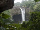 Rainbow Falls, Near Hilo, Island of Hawaii (Big Island), Hawaii, USA Photographic Print by Ethel Davies