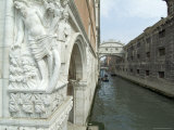 Bridge of Sighs, Doge's Palace, Venice, Veneto, Italy Photographic Print by Ethel Davies