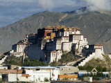 Potala Palace, Former Palace of the Dalai Lama, Unesco World Heritage Site, Lhasa, Tibet, China Photographic Print by Ethel Davies