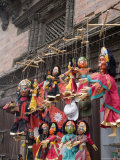 Marionettes, Durbar Square, Kathmandu, Nepal Photographic Print by Ethel Davies