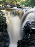 Waterfalls on Dundonnell River, Wester Ross, Highland Region, Scotland, United Kingdom Photographic Print by Neale Clarke