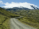 Road to Snaefellsness Mountain, Iceland, Polar Regions Photographic Print by Ethel Davies