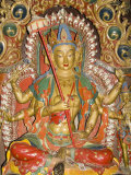 Sculpture, Kumbum, Gyantse, Tibet, China Photographic Print by Ethel Davies
