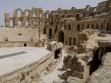 Roman Colosseum, El Jem, Unesco World Heritage Site, Tunisia, North Africa, Africa Photographic Print by Ethel Davies
