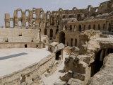 Roman Colosseum, El Jem, Unesco World Heritage Site, Tunisia, North Africa, Africa Photographic Print by Ethel Davies