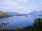 Keswick and Derwent Water from Surprise View, Lake District National Park, Cumbria, England Fotoprint van Neale Clarke
