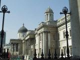 The National Gallery, Trafalgar Square, London, England, United Kingdom Photographic Print by Ethel Davies