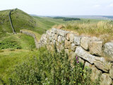 Hadrian's Wall, Near Housesteads, Unesco World Heritage Site, Northumberland, England Photographic Print by Ethel Davies