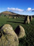 Castlerigg Stone Circle, Keswick, Lake District, Cumbria, England, United Kingdom Photographic Print by Neale Clarke