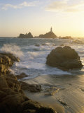 Corbiere Lighthouse, St. Brelard-Corbiere Point, Jersey, Channel Islands, United Kingdom Photographic Print by Neale Clarke