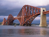 Forth Railway Bridge, Queensferry, Edinburgh, Lothian, Scotland, United Kingdom Photographic Print by Neale Clarke