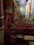 Main Prayer Hall, Samye Monastery, Tibet, China Photographic Print by Ethel Davies