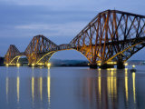 Forth Railway Bridge Over the Firth of Forth, Queensferry Near Edinburgh, Lothian, Scotland, Uk Fotografie-Druck von Neale Clarke