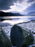 National Trust Centenary Stone, Derwent Water, Lake District, Cumbria, England Photographic Print by Neale Clarke
