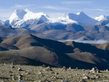 Himalaya Range, Tibet, China Photographic Print by Ethel Davies