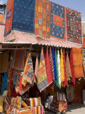 Carpets, Place De Criee, Souks, Marrakech, Morocco, North Africa, Africa Photographic Print by Ethel Davies