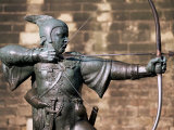 Statue of Robin Hood, Nottingham, Nottinghamshire, England, United Kingdom Photographic Print by Neale Clarke