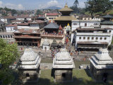 Pashupatinath Temple, Kathmandu, Nepal Photographic Print by Ethel Davies