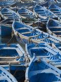 Essaouira Harbour, Morocco, North Africa, Africa Fotodruck von Ethel Davies