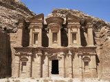 Ad-Dayr (The Monastery), Petra, Unesco World Heritage Site, Jordan, Middle East Photographic Print by Neale Clarke