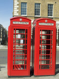 Telephone Boxes, London, England, United Kingdom Photographic Print by Ethel Davies