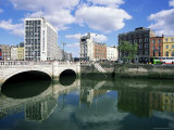 O'Connell Bridge and River Liffey, Dublin, Eire (Rpublic of Ireland) Photographic Print by Neale Clarke