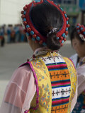 Dancer in Traditional Dress, Gyantse, Tibet, China Photographic Print by Ethel Davies