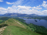 Derwent Water and Lonscale Fell from Cat Bells, Lake District National Park, Cumbria, England Photographic Print by Neale Clarke