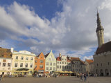 Town Hall in Old Town Square, Old Town, Unesco World Heritage Site, Tallinn, Estonia Photographic Print by Neale Clarke