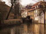 Grand Prior's Mill (Venice of Prague), Kampa Island, Prague, Czech Republic Photographic Print by Neale Clarke