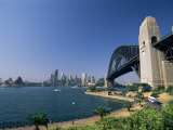 Sydney Harbour Bridge and Skyline, Sydney, New South Wales, Australia Photographic Print by Neale Clarke
