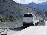 New Railway Station, Beijing to Lhasa, Lhasa, Tibet, China Photographic Print by Ethel Davies