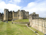 Alnwick Castle, Alnwick, Northumberland, England, United Kingdom Photographic Print by Ethel Davies