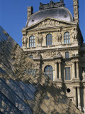 La Pyramide and Musee Du Louvre, Paris, France Photographic Print by Neale Clarke