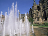 Town Hall and Peace Gardens, Sheffield, Yorkshire, England, United Kingdom Photographic Print by Neale Clarke